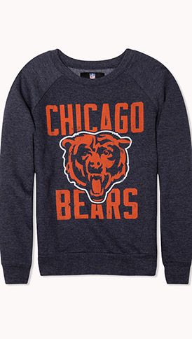 Chicago Bears Logo Sweatshirt #dabearz love it, perfect for my day watchin football at the bar