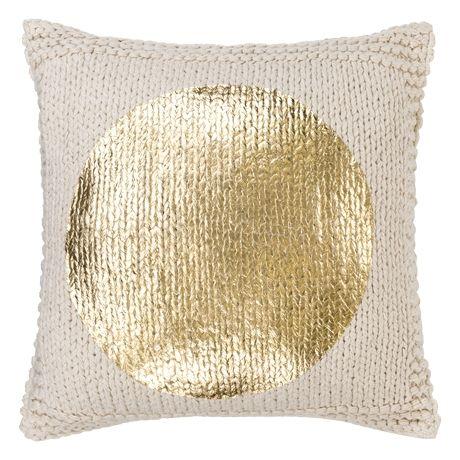 Gilt Cushion 50x50cm  Gold Spot