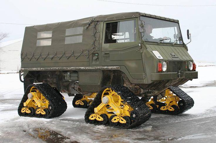 Pinzgauer High-Mobility All-Terrain Vehicle