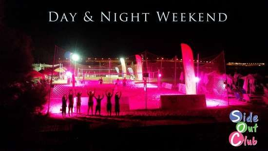 Day & Night Beachvolley Weekend Side Out Club