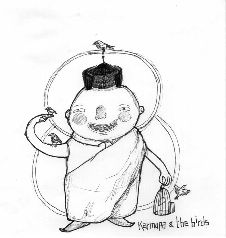 Karmapa & the Birds