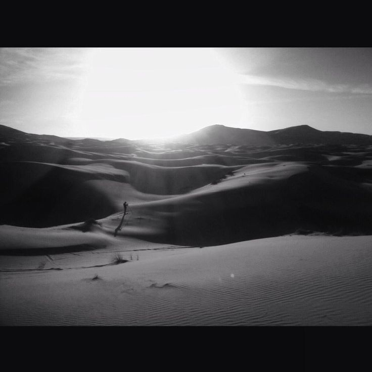 Dunes ond erg of Western Sahara Desert, Merzouga, Morocco. March 2015 #marokoexpress2015