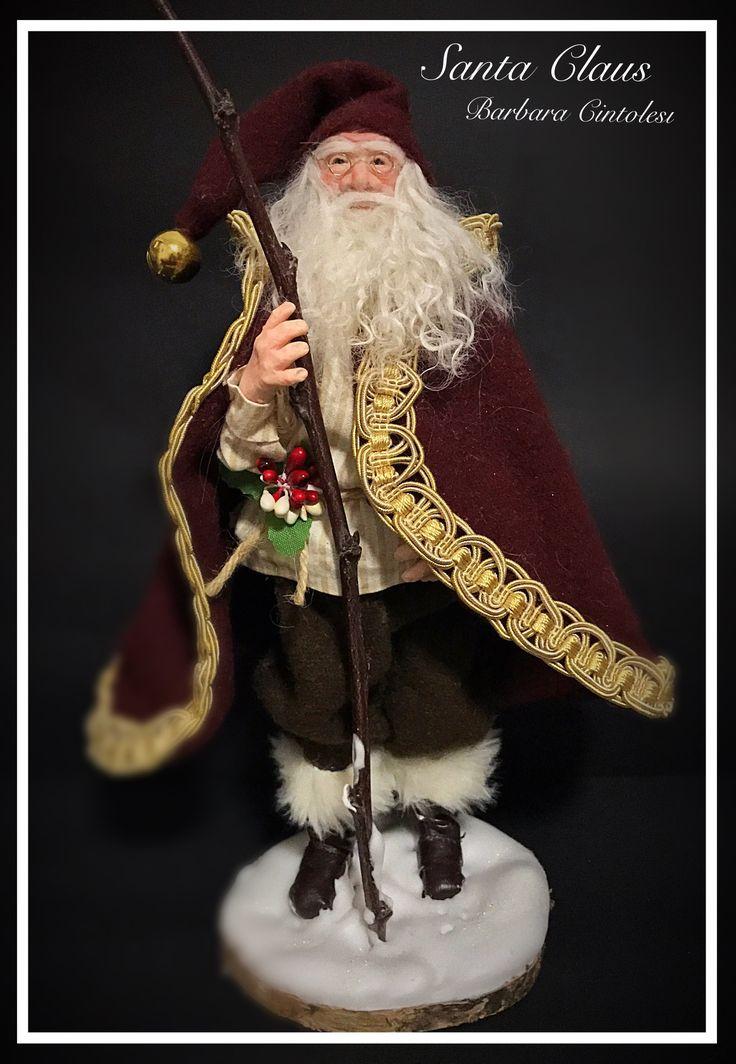 Santa Claus - Ooak Doll