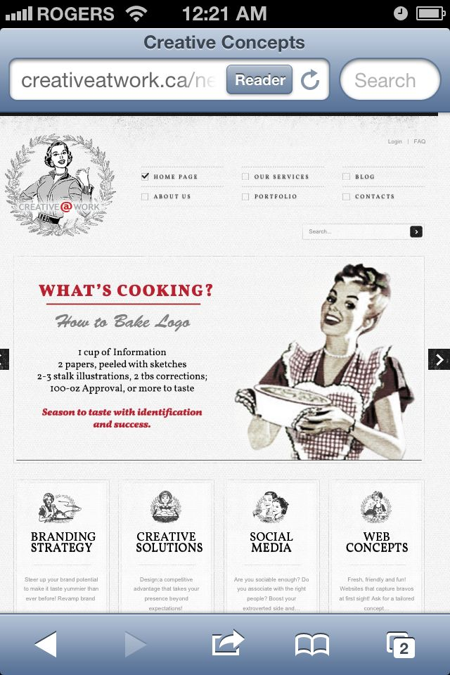 Enjoy the master cooking of our branding experts. Our new web page its coming soon !!