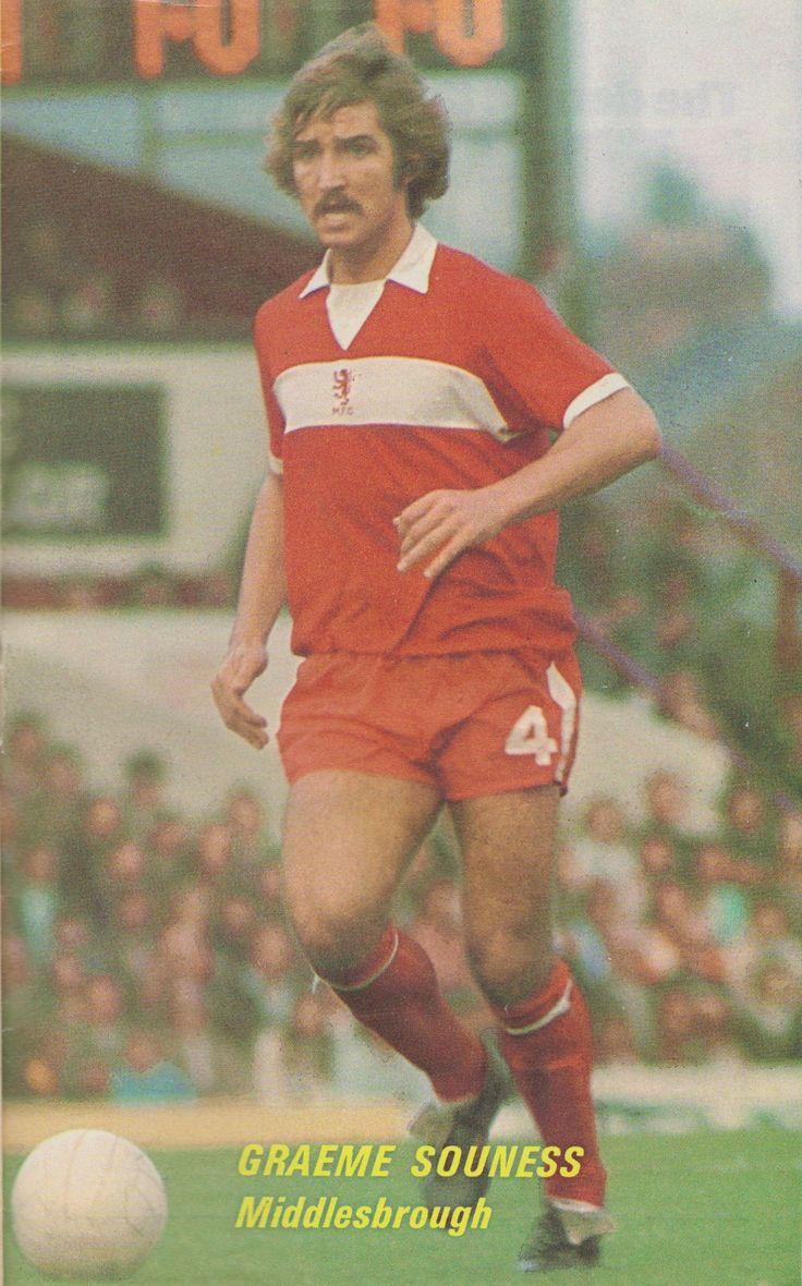 Graeme Souness Middlesbrough 1973
