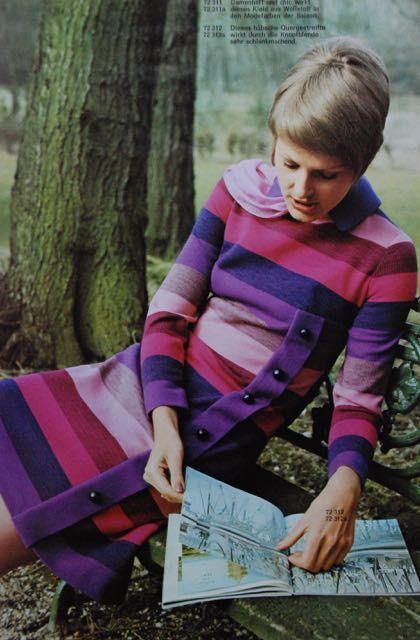 dress, 1972 | Frohne | Pinterest