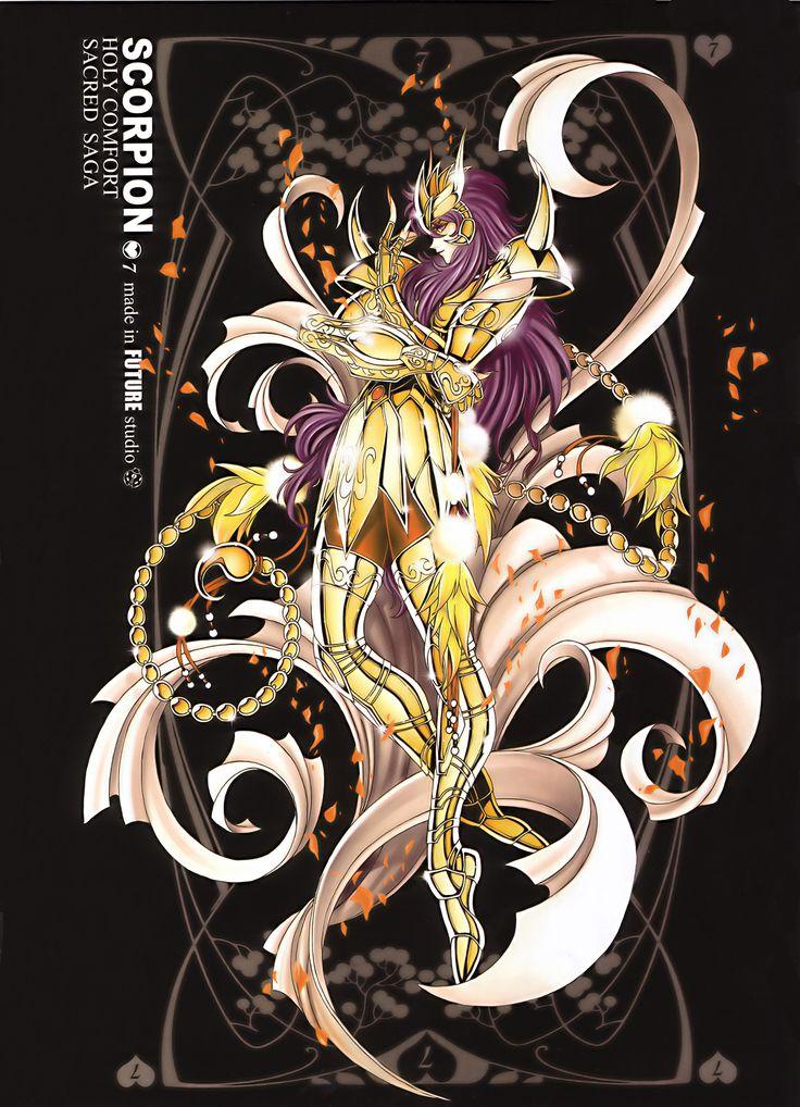 Saint Seiya Armor Masami Kurumada Future Studio Petals Saint Seiya Scorpio Milo