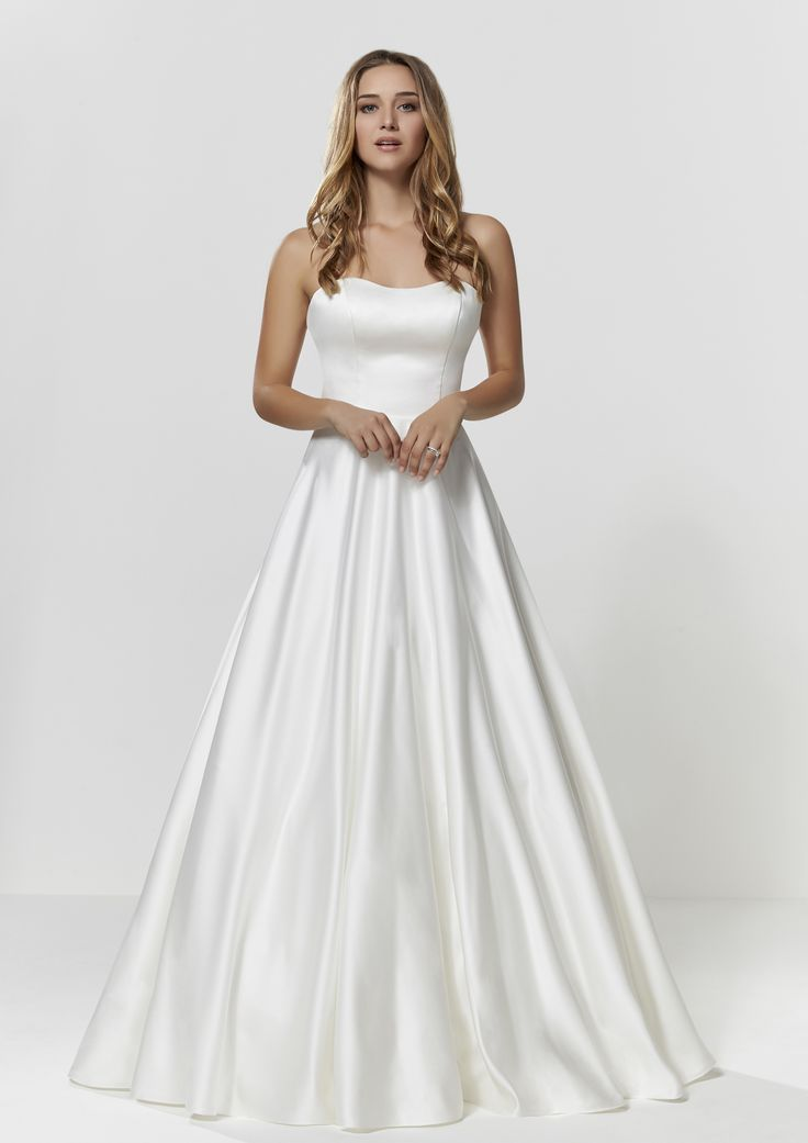 Princess Wedding Dress - Check out our Custom Pin Options #CustomWeddingDress