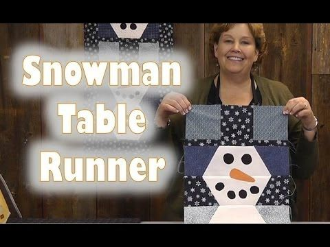 ▶ Scrap Buster - How to Make a Snowman Wall Hanging - YouTube