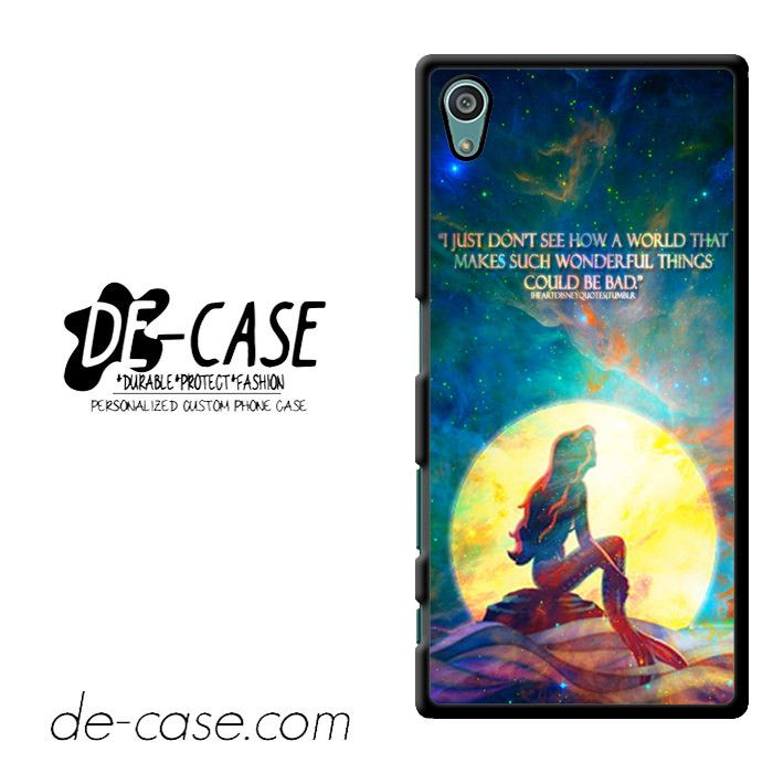 The Little Mermaid Quote DEAL-10861 Sony Phonecase Cover For Xperia Z5