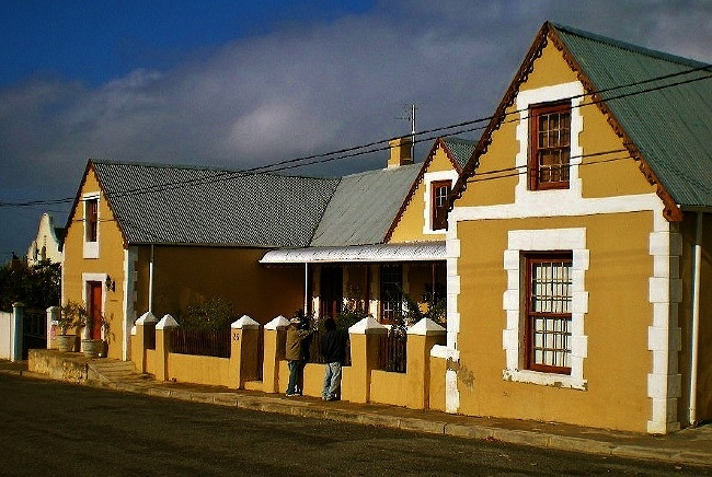 a house in Bredasdorp in the Western Cape Province of South Africa