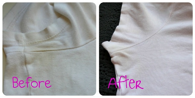 Pit Stain Remover That Actually works!  This safe stain remover works on MANY different set in stains.