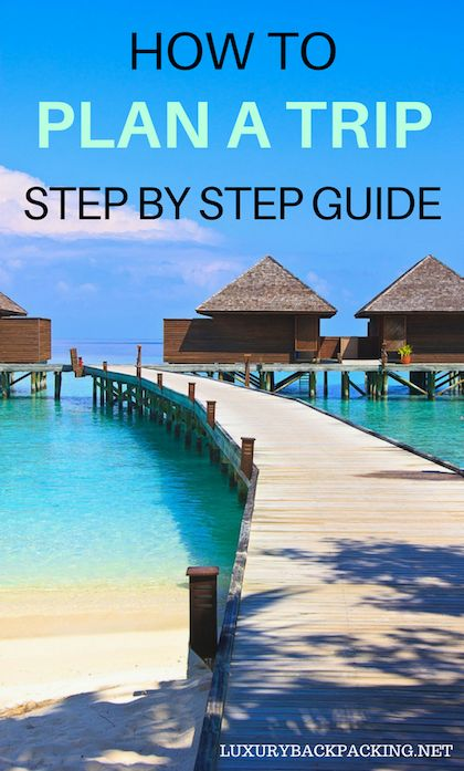 How to plan a trip of a lifetime. An easy step by step guide. Use these 18 steps to plan your trip and take the stress out of booking your next trip.