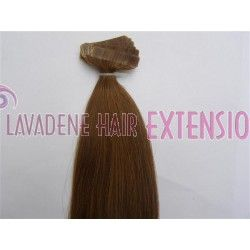 Colour: #10 Light Caramel Brown Style : Straight Weight: 60grams Length:  20 inches 20pces in 1 pack