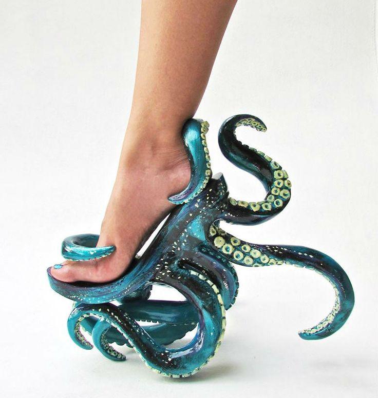 Os sapatos mais estranhos que você já viu!