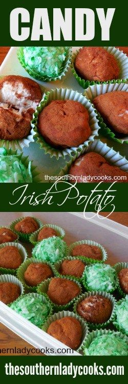 IRISH POTATO CANDY - The Southern Lady Cooks