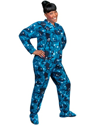 Here thought Bedtime bear footed pajamas for adults