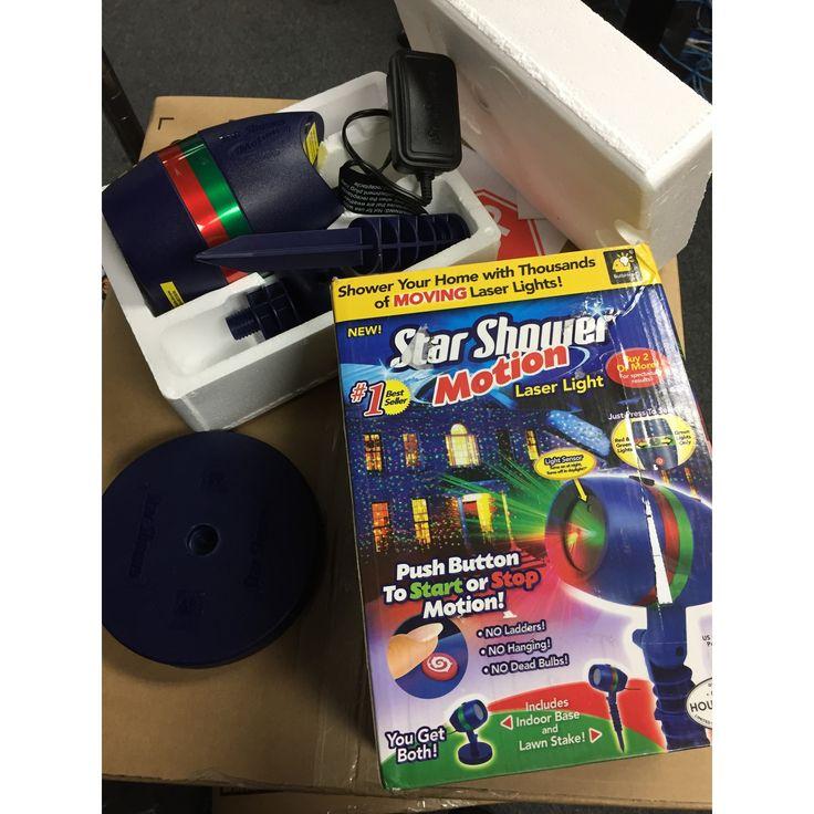 Star Shower Outdoor Laser Party Lights - 2 Pack Bundle - Star Projector