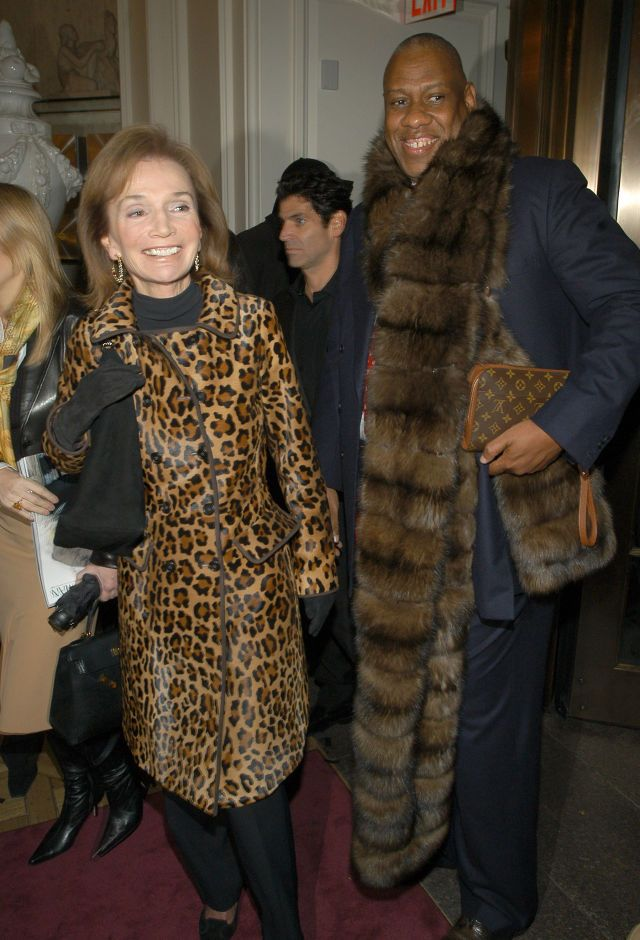 LEE BOUVIER RADZIWILL IN A TIGER SKIN COAT ~ NOT CHIC, LEE; ITS ILLEGAL! ~ 10 Style Lessons We Can Learn From Lee Radziwill - TownandCountryMag.com