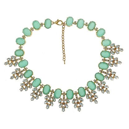 Razzle dazzle 'em with the gorgeous Serena crystal necklace. Add sparkle to any outfit. Finally a preppy necklace that rocks. Free shipping over $75.