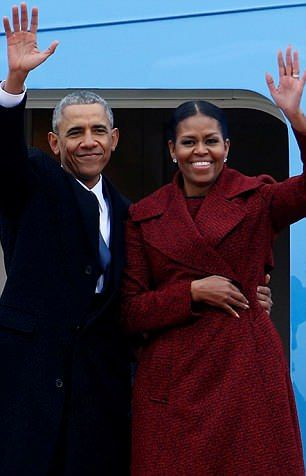 GIRL ABOUT TOWN: Michelle and Barack Obama sends a letter to daughters boyfriend -  By Charlotte Griffiths Diary Editor For The Mail On Sunday  Published: 19:00 EDT 21 April 2018 | Updated: 21:05 EDT 21 April 2018  Barack and Michelle Obama are such a polite pair  I hear theyve sent a letter to their daughter Malias posh new boyfriend Rory Farquharson to apologise for being so famous.  Malia 19 and Rory 20 have been an item since they met while studying at Harvard University last year.  The…