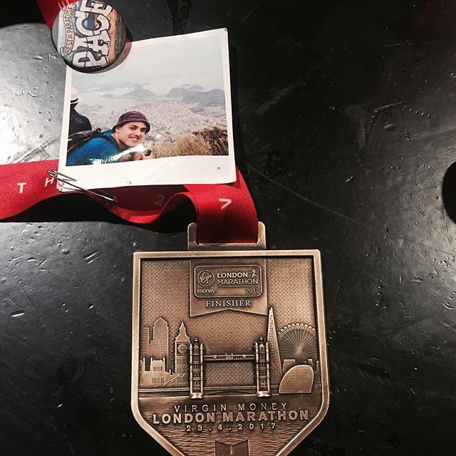 User :daddydarkrdc :There are no words that can capture the emotions running through @run.dem.crew HQ right now but I can safely say we on definitely moving forward in the right direction and doing everything in our power to ensure the legacy of our beautiful Pace.  Shouts to everyone who touched down for London Marathon medals last night and all crews who joined us in the basement.  There were tears, laughter and pain but an overwhelming sense of positivity that I haven't seen with our crew…