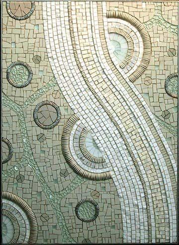 Love Sonia King's mosaics.
