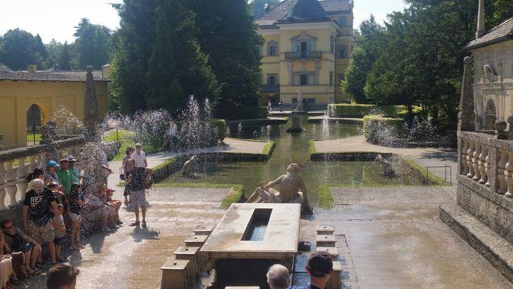 Austria - schloss hellbrunn, wasserspiele