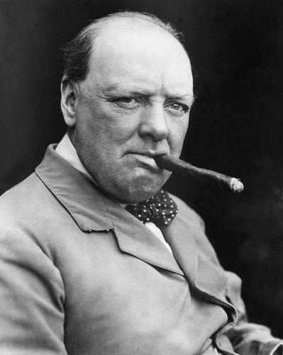 British Prime Minister Winston Churchill Glossy 8x10 Photo Print Poster   eBay