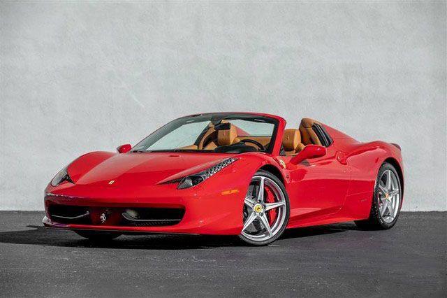 Ferrari 458 Italia Rental Atlanta Car Rental Ferrari Car Ferrari