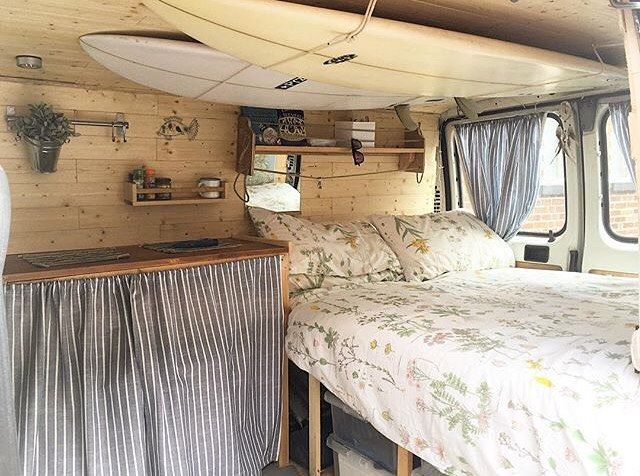 Instagram Post By Vanlife Converted VansConverted Van CampersDiy