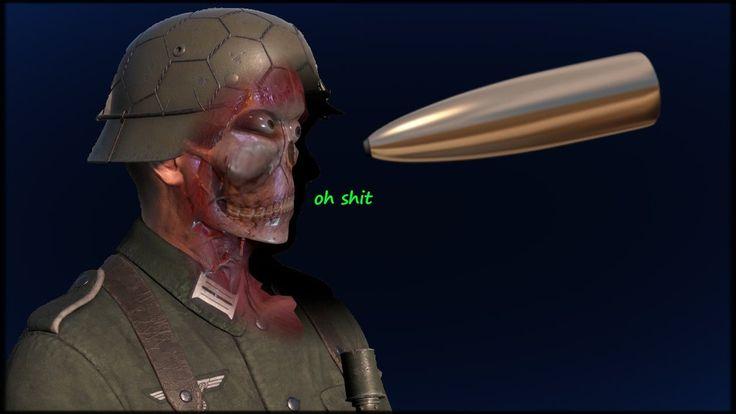 ~Sniper Elite 4~ X-Ray Killcam Montage!