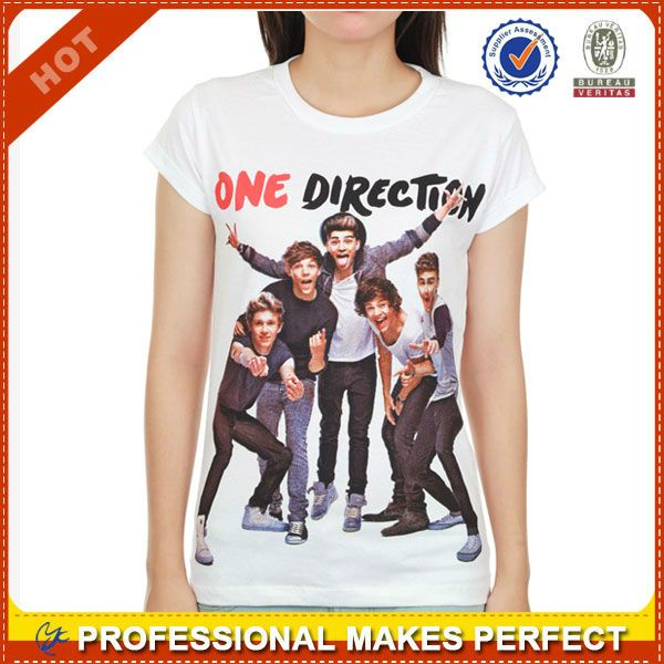 100 cotton one direction clothes one direction t-shirt(YCT-B0147) $2.78~$10.67
