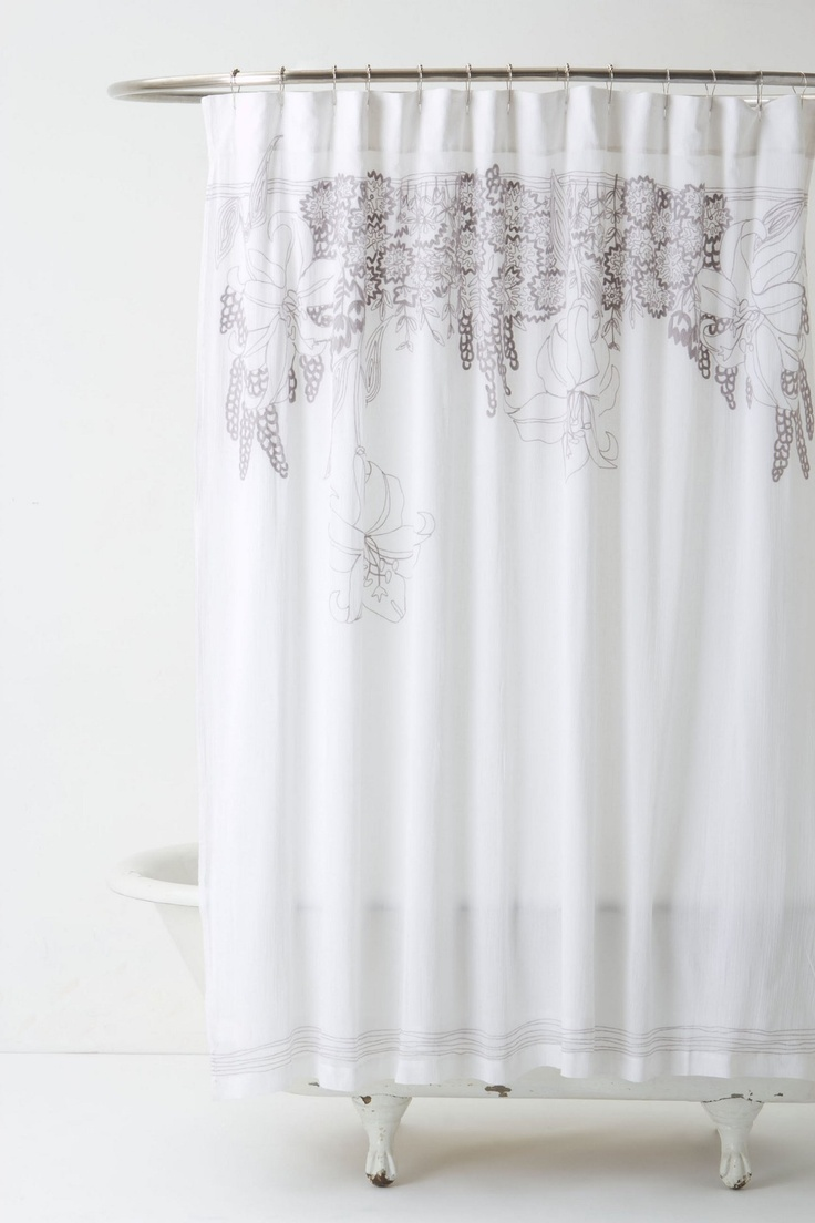 Recoleta Shower Curtain Bathroom Decor Pinterest Home Gray And