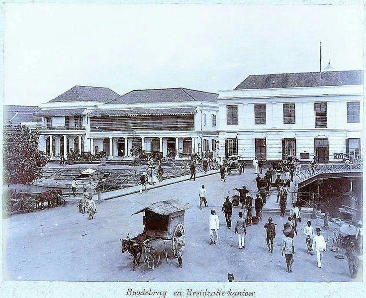 Jembatan Merah circa 1910 - 1920