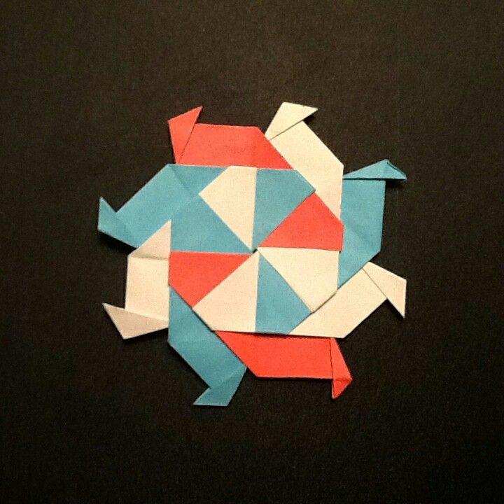Origami Ninja star | Origami | Pinterest | Origami, Stars ...