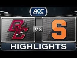 Image result for syracuse vs boston college football