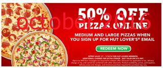 Free Printable Coupons: Pizza Hut Coupons