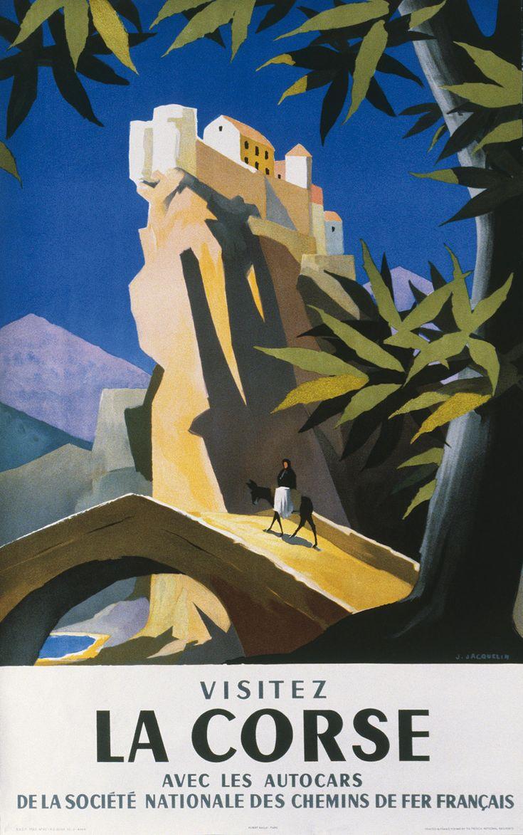 Affiches vintage de Corse (Corsica)                                                                                                                                                                                 Plus