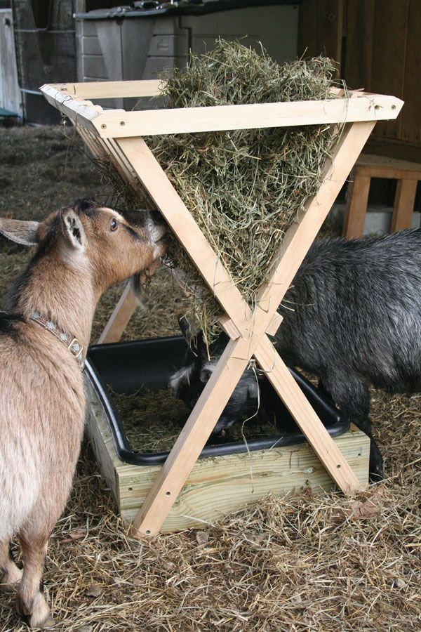 How To Build A Hay Feeder For Smaller Livestock Farm And