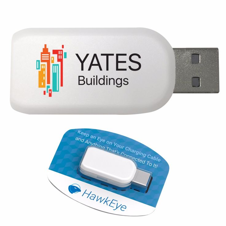 Promotional gift and merchandise for laptops, phones, and tablets. It sets an alarm when a connected device is unplugged without your notice.