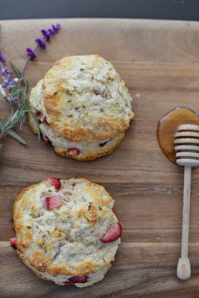 strawberry lavender scones | M Loves M