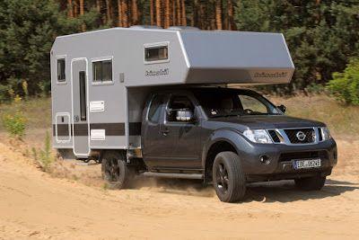 Camper Stuebchen Absetzkabine Bimobil 240 Auf Nissan Navara Campingfahrzeuge Aktuell