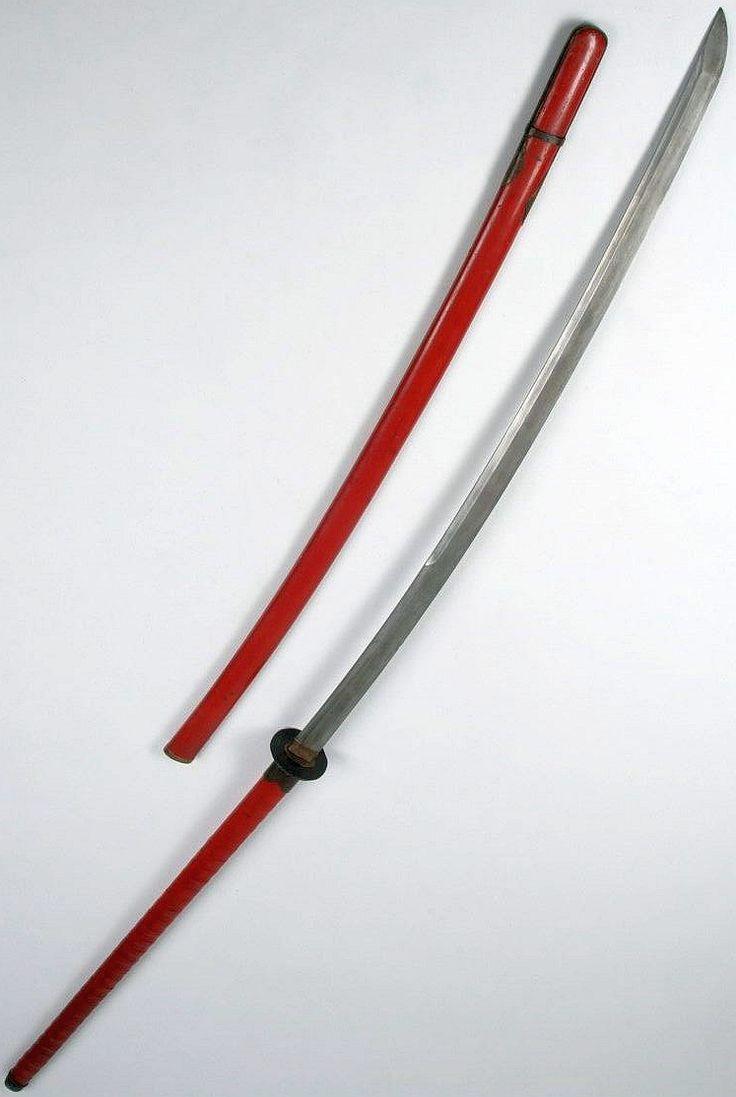Odachi/otachi or nodachi.