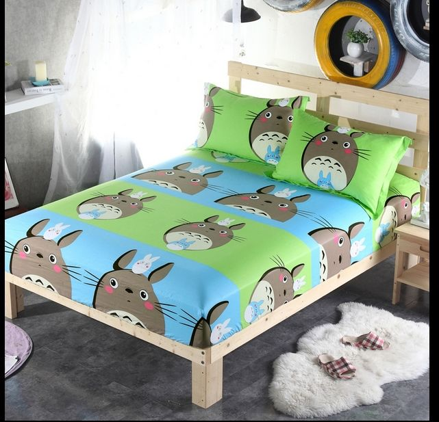 Fast shipping 100 COTTON Totoro bed set boys bedding sets Twin full queen size duvet covers child quilt cover single kids //Price: $43.76 & FREE Shipping //     #bedding