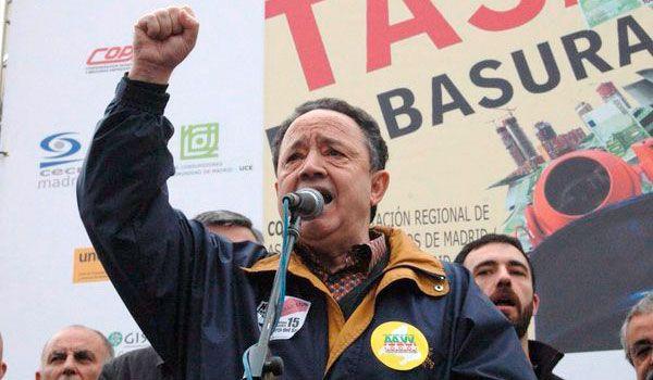 Fallece Francisco Caño, antiguo presidente de la FRAVM e histórico del movimiento vecinal de Madrid