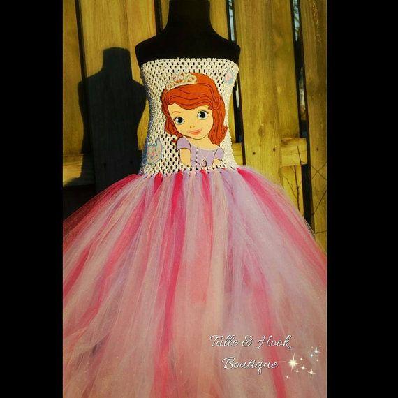 Princess Sofia tutu dress Princess sofia birthday by TulleandHook