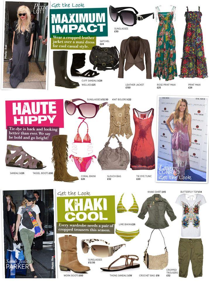 web design - Get the Look editorial design for Next Retail website: next.co.uk