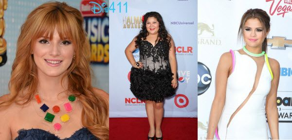 Dis411 Bella Thorne, Raini Rodriguez And Selena Gomez Up For 2013 Imagen Awards