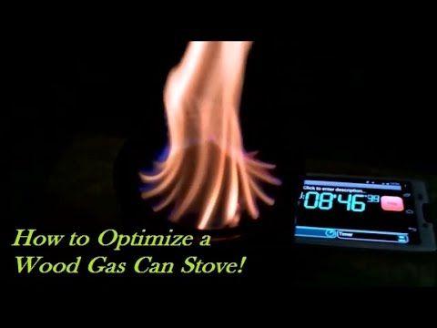 Wood Gas Stove! Optimization